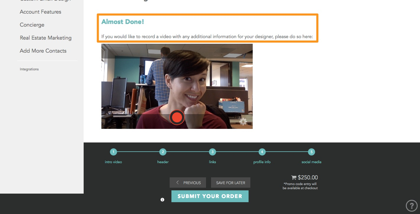 How do I order my template for my Prompt emails? – BombBomb